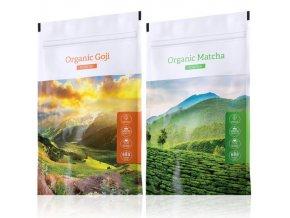 organic goji matcha